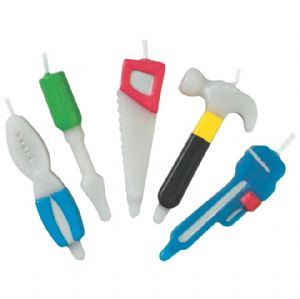 Home Improvement Tools 5-Piece Candle Set